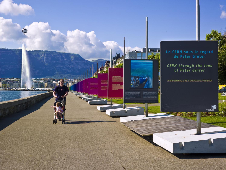 Le CERN sous le regard de Peter Ginter