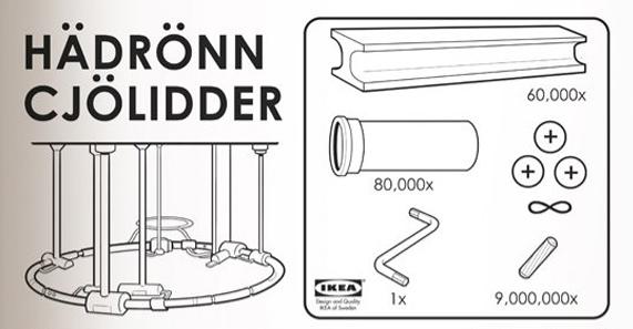 Si Ikea hiciera un Colisionador de Hadrones