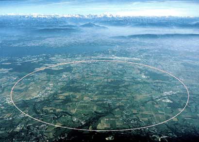 Laboratorio del CERN. Muchos de los elementos artificiales son creados ahí.